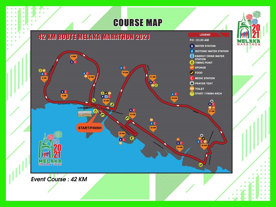 42KM Course Map
