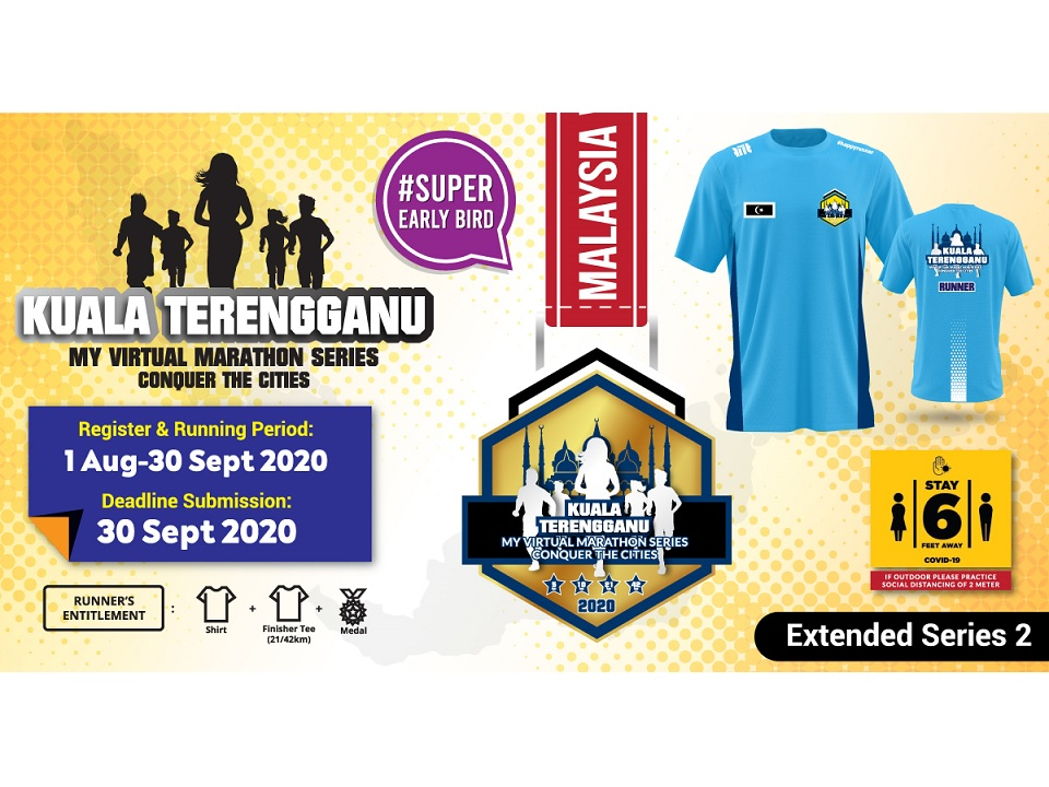 Kuala Terengganu MY Virtual Marathon Series 2020 Conquer The Cities