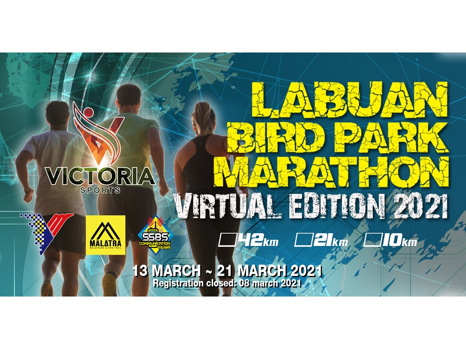 Labuan Bird Park Marathon 2021 Virtual Edition