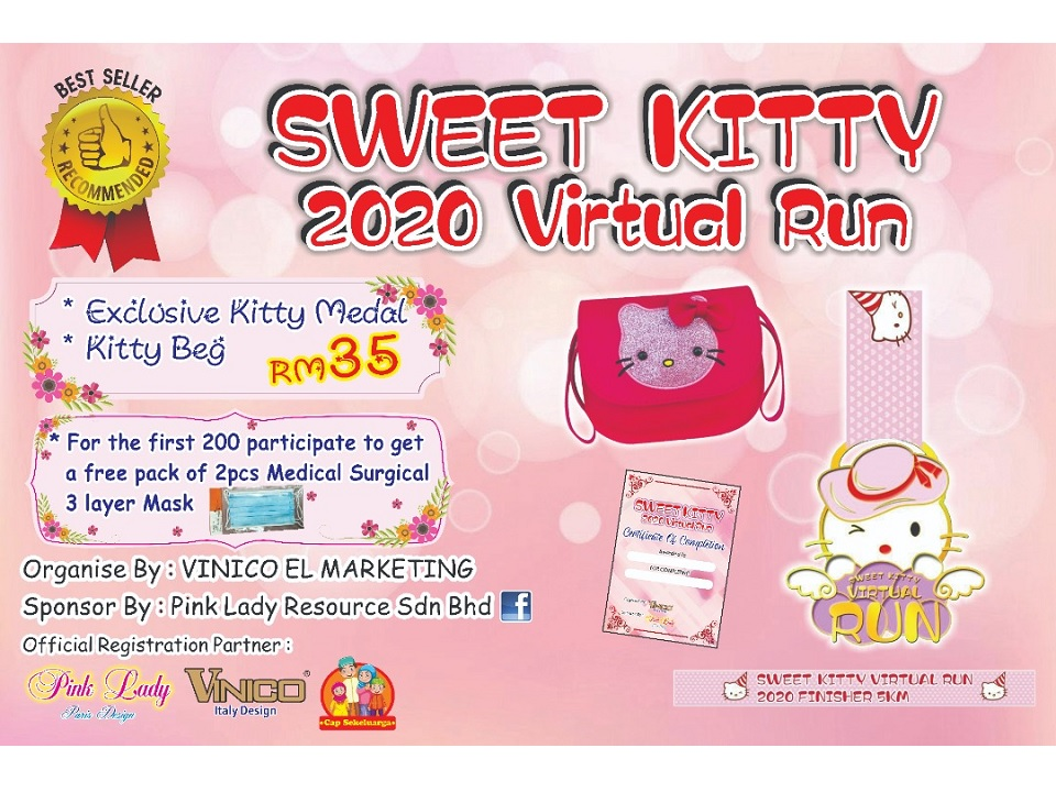 Sweet Kitty 2020 Virtual Run